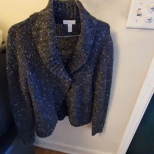 Sweater jacket/carnigan
